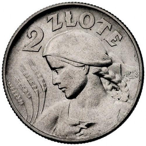2 złote 1925, Londyn, po dacie kropka, Parchimowicz 109...