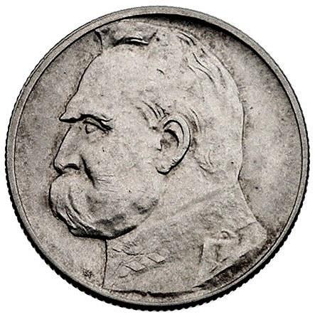 2 złote 1936, Piłsudski, Parchimowicz 111 b, rzadkie
