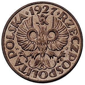 1 grosz 1927, Warszawa, Parchimowicz 101 c