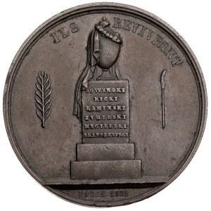 medal autorstwa Nouveta wybity przez Polski Komitet Emi...