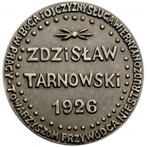 Zdzisław Tarnowski- medal autorstwa Konstantego Laszczk...