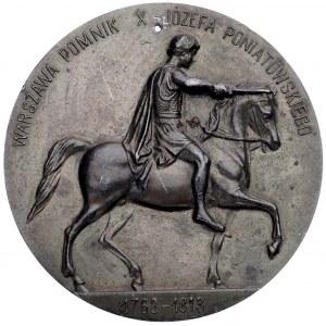 medalion- pomnik księcia Józefa Poniatowskiego w Warsza...