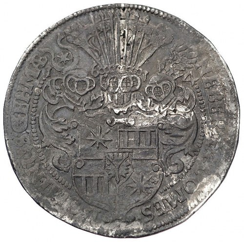 Ernest III 1601-1622, talar, 1614, Aw: Popiersie i napi...