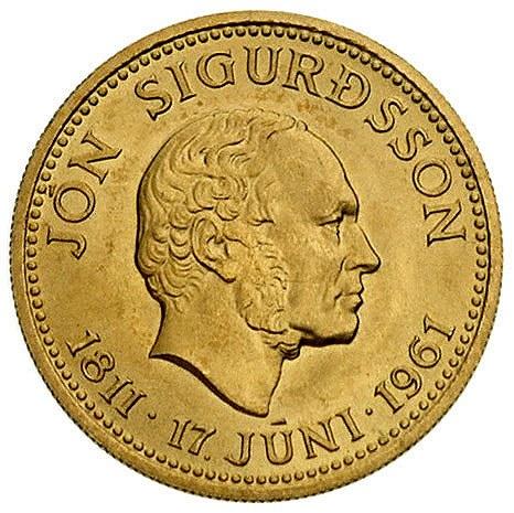 500 koron 1961, Fr. 1, złoto, 8.96 g