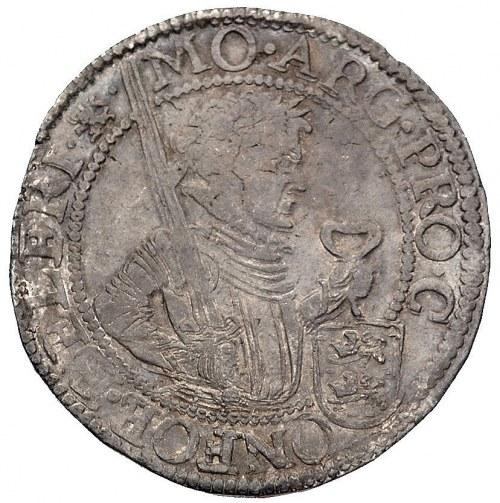 rijksdaalder, 1629, Fryzja, Delm. 947, Dav. 4829, ciemn...