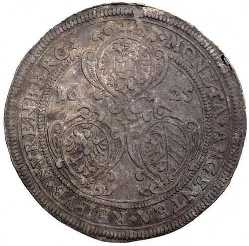 talar, 1625, Aw: Tarcze herbowe i napis wokoło, Rw: Dwu...