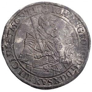talar, 1624 H-I, Drezno, Aw: Popiersie i napis wokoło, ...