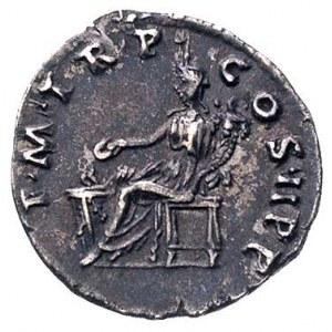 Trajan 98-117, denar, Aw: Popiersie w prawo i napis, Rw...