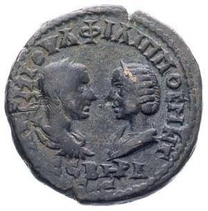TRACJA- Mesembria, Filip I i Otacilia Sewera 244-249, A...