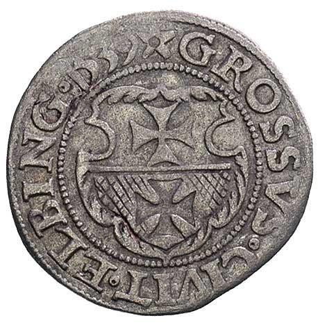 grosz 1539, Elbląg