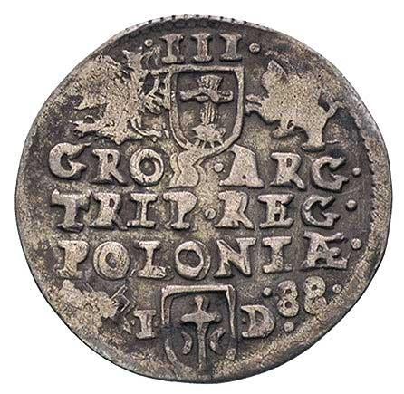 trojak 1588, Poznań, rzadki