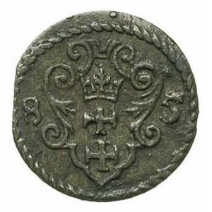 denar 1585, Gdańsk, T. 2, patyna