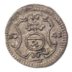 halerz 1741, Drezno, Merseb. 1765