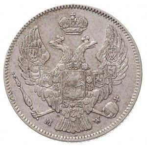 30 kopiejek = 2 złote 1835, Warszawa, Plage 372, Bitkin...