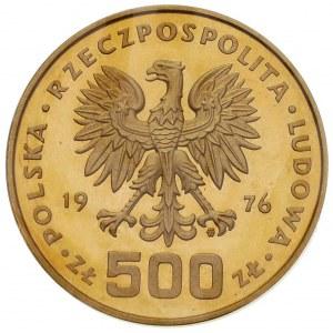 komplet monet 500 złotych 1976, Warszawa, Tadeusz Kości...