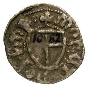 Jan von Tiefen 1489-1497, szeląg, Królewiec, Aw: Tarcza...