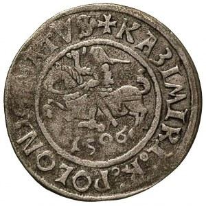 grosz 1506, Głogów, moneta wybita przez królewicza Zygm...