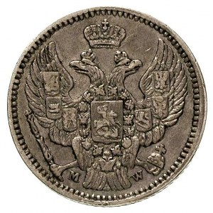 20 kopiejek = 40 groszy 1850, Warszawa, Plage 396, Bitk...