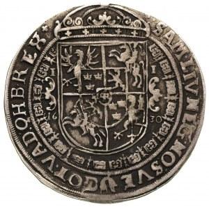 talar 1630, Bydgoszcz, wąskie popiersie króla z kokardą...