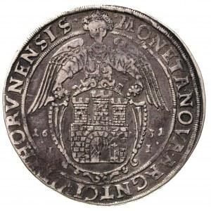 talar 1631, Toruń, 27.69 g, H-Cz. 5814 R1, Dav. 4372, T...
