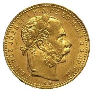 20 franków = 8 forintów 1880 / KB, Krzemnica, Fr. 242, ...
