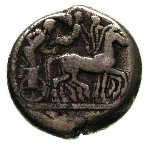 Sycylia-Syrakuzy, tetradrachma 485-478 pne, Aw: Głowa A...