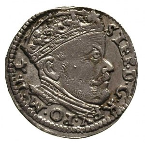 trojak 1586, Wilno, odmiana bez herbu Lis, Ivanauskas 7...