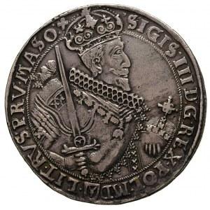 talar 1630, Bydgoszcz, odmiana z herbem podskarbiego po...