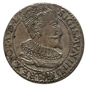 szóstak 1596, Malbork, odmiana napisu SEX
