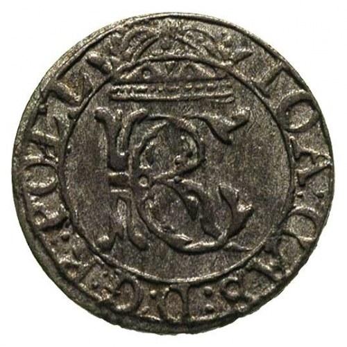 szeląg 1652, Wilno, Ivanauskas 1124:245, pięknie wybity...