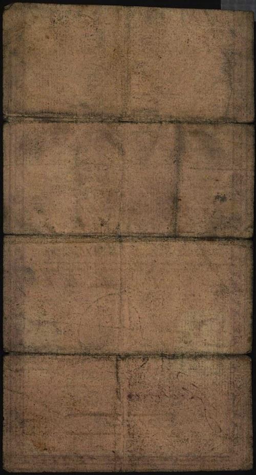 5 złotych 8.06.1794, seria N.A.1, błąd w wyrazie \wszlk...