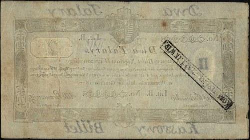 2 talary 1.12.1810, podpis Jaraczewski, Miłczak A13b, L...