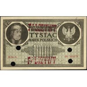1.000 marek polskich 17.05.1919, III seria A, Miłczak 2...