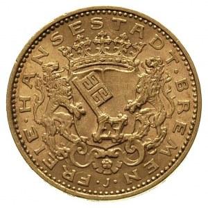 20 marek 1906, Fr. 3773, J. 204, złoto 7.95 g