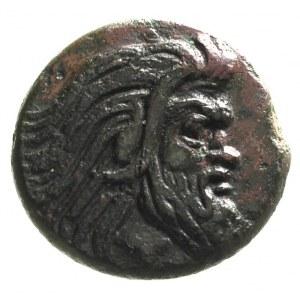 PANTIKAPEA, tetrachalkon 314-310 pne, Aw: Głowa brodate...