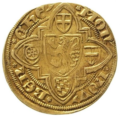 księstwo Jülich- Reinald IV 1402-1423, goldgulden, Aw: ...