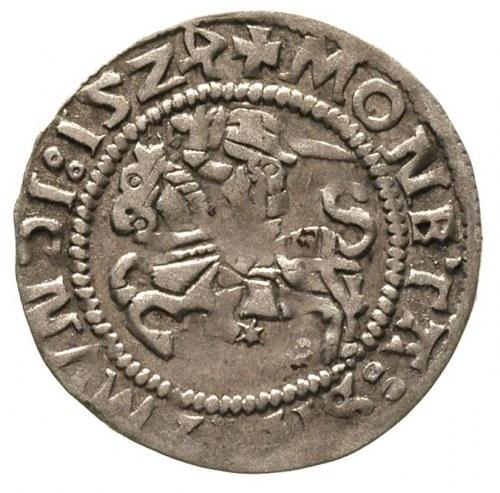 półgrosz 1524, Wilno, odwrócona 4 w dacie, Ivanauskas 3...