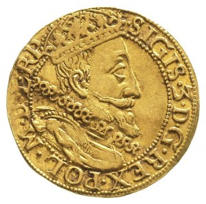 dukat 1610, Gdańsk, H-Cz. 1267 R1, Kaleniecki s 175, T....