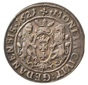 ort 1621, Gdańsk, rzadki rocznik, ładna patyna