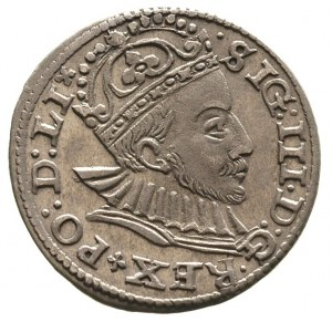 trojak 1588, Ryga, Gerbaszewski 9, bardzo ładny egzempl...