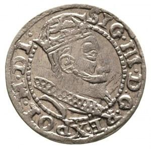 grosz 1607, Kraków, drobna wada blachy, ale ładny egzem...