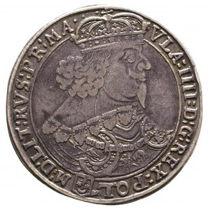 talar 1644, Bydgoszcz, Aw: Popiersie króla w prawo i na...