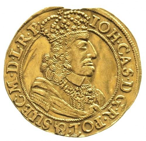 dukat 1658, Gdańsk, Kaleniecki ss 389-391, H-Cz. 7645, ...