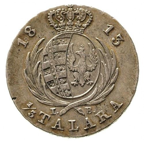 1/3 talara (dwuzłotówka) 1813, Warszawa, Plage 112, min...