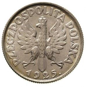 1 złoty 1925, Londyn, Parchimowicz 107 b, bardzo ładnie...