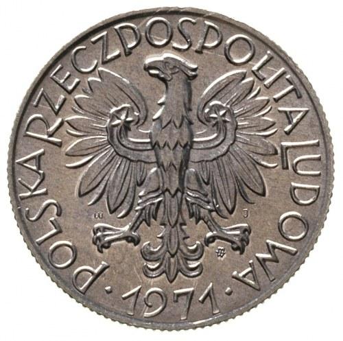 5 złotych 1971, Warszawa, Parchimowicz 220 d, rzadkie w...