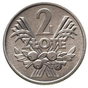 2 złote 1959, Warszawa, Parchimowicz 216 b, rzadkie i p...