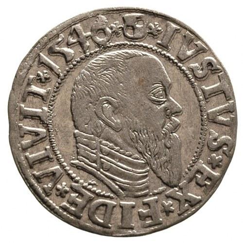 grosz 1546, Królewiec, Bahr. 1202, Neumann 47, bardzo ł...