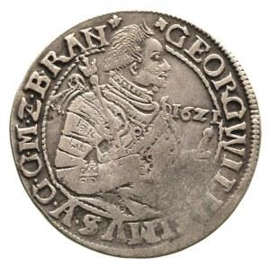 ort 1621, Królewiec, rzadsza odmiana z datą przed popie...