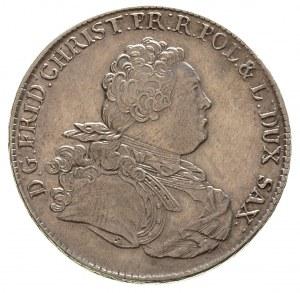 talar 1763, Drezno, litery ST na ramieniu króla, litery...